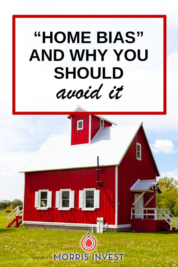 """Have you ever heard the term """"home bias?"""" Here's how you can avoid this trap, and make sure your real estate investing portfolio is well diversified."""