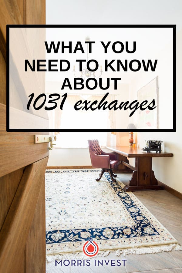 A 1031 exchange is an incredibly powerful tool that allows an individual to save on taxes after the sale of a piece of real estate. Here's how it works.