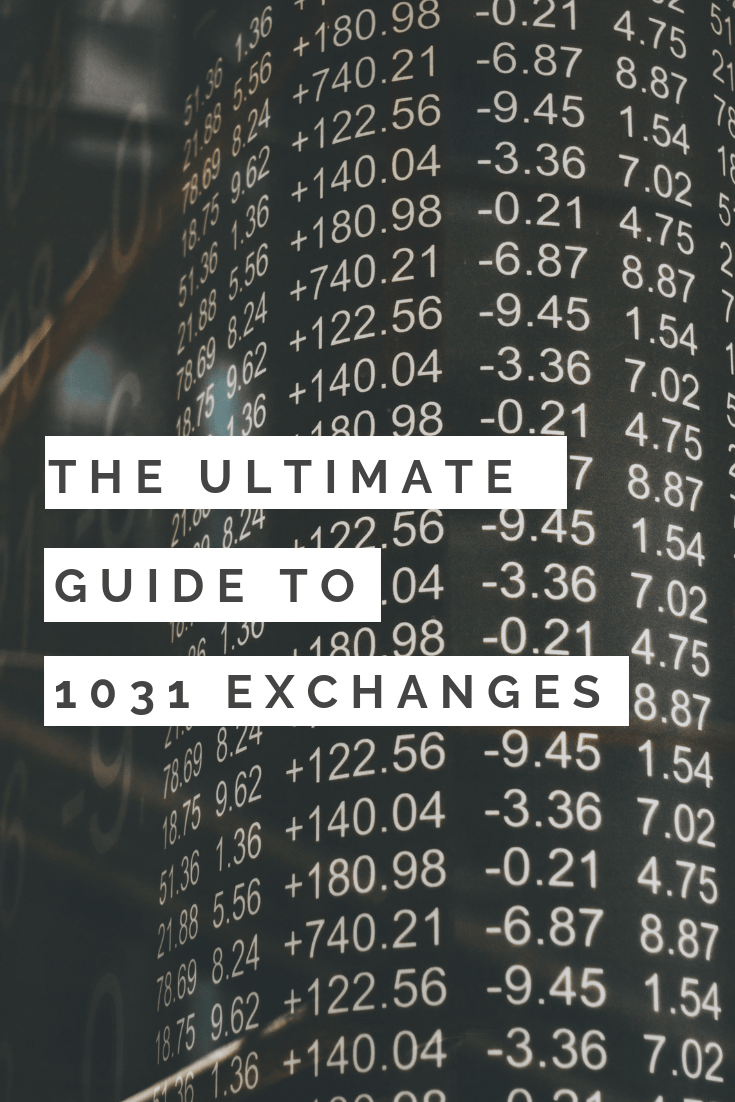 1031 exchange guide real estate taxes