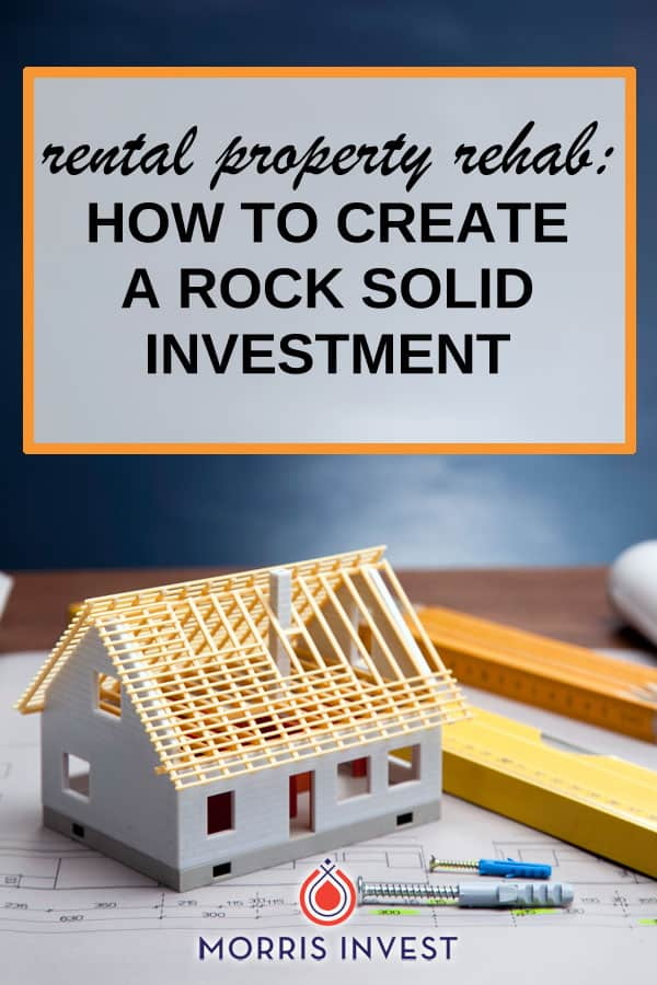 The key to minimizing expensive repairs during the life of your investment is to conduct a comprehensive renovation. Here are a few major components I tend to replace during my rental property renovations.