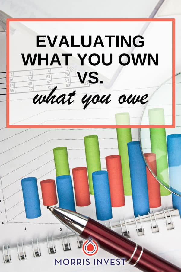 Leveraging means taking what you own, and using it as collateral to make further purchases. In real estate, leveraging is how successful investors are able to quickly and effectively grow massive portfolios. But you've got to know your net worth to do this effectively.