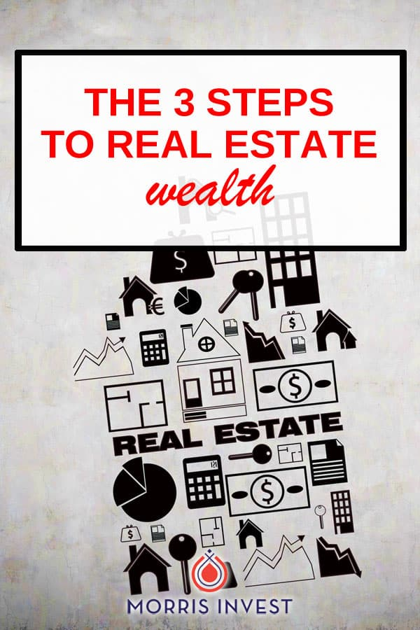Wealth creation via real estate is actually a simple process. Before you get bogged down with the details, it's important to go back to basics. That's why I'm sharing the three steps to creating wealth via real estate investing!