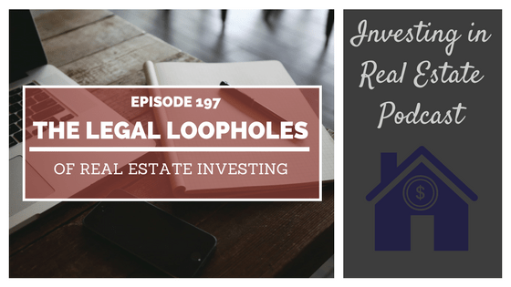 EP197: The Legal Loopholes of Real Estate Investing – Interview with Garrett Sutton