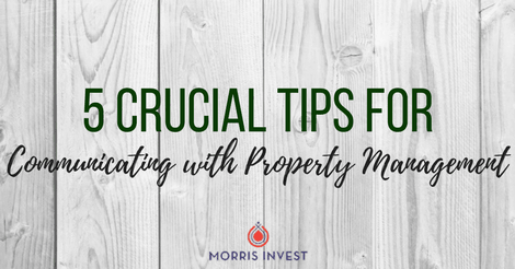 5 Crucial Tips for Communicating with Property Management