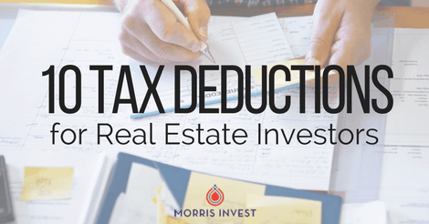 10 Tax Deductions for Real Estate Investors