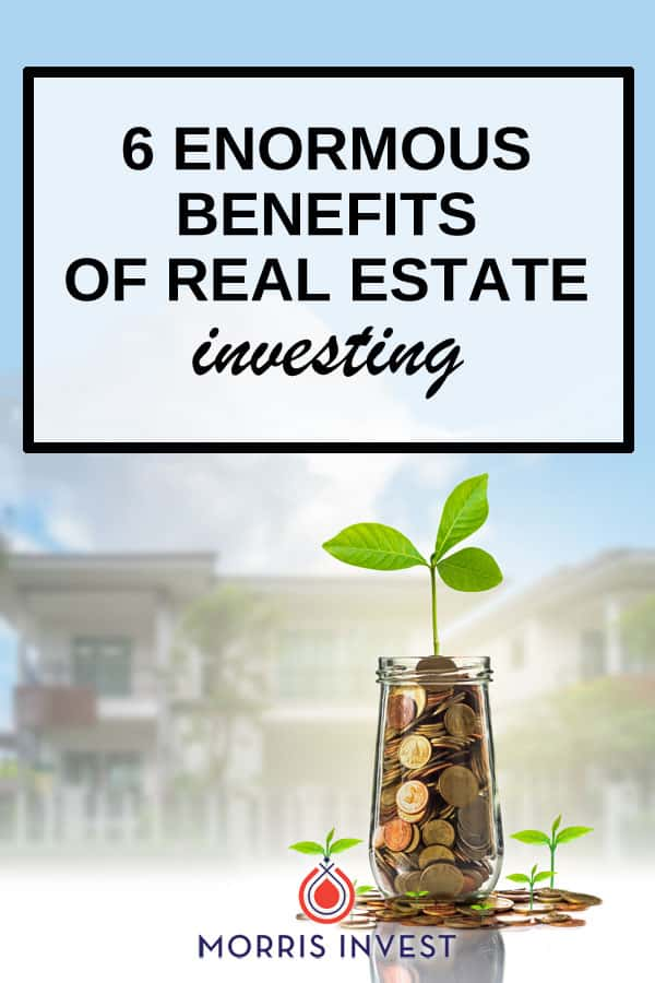 Real estate is by far the safest and best strategy for creating long-term wealth. Here are 6 enormous benefits you need to know about.