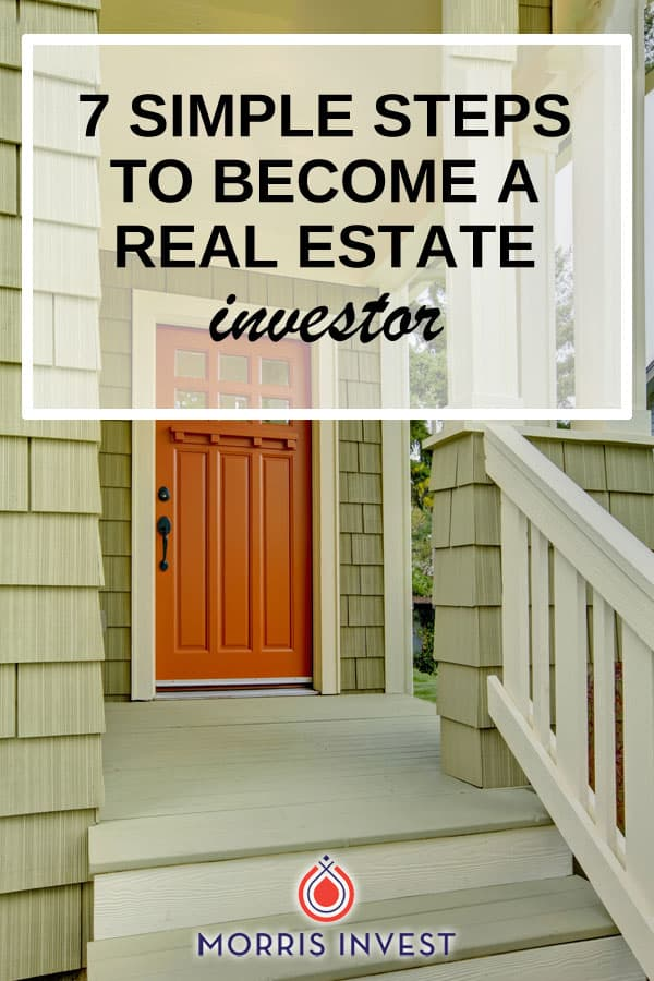 7 simple steps you can use in order to purchase your first rental property, grow your portfolio, and become a successful real estate investor!