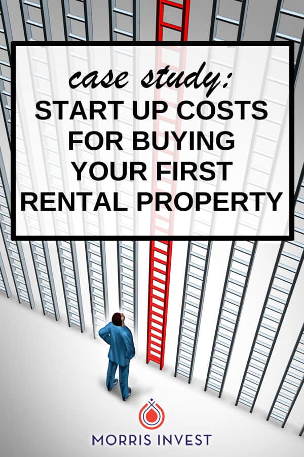 Case study: Five start up costs that are associated with real estate investing.