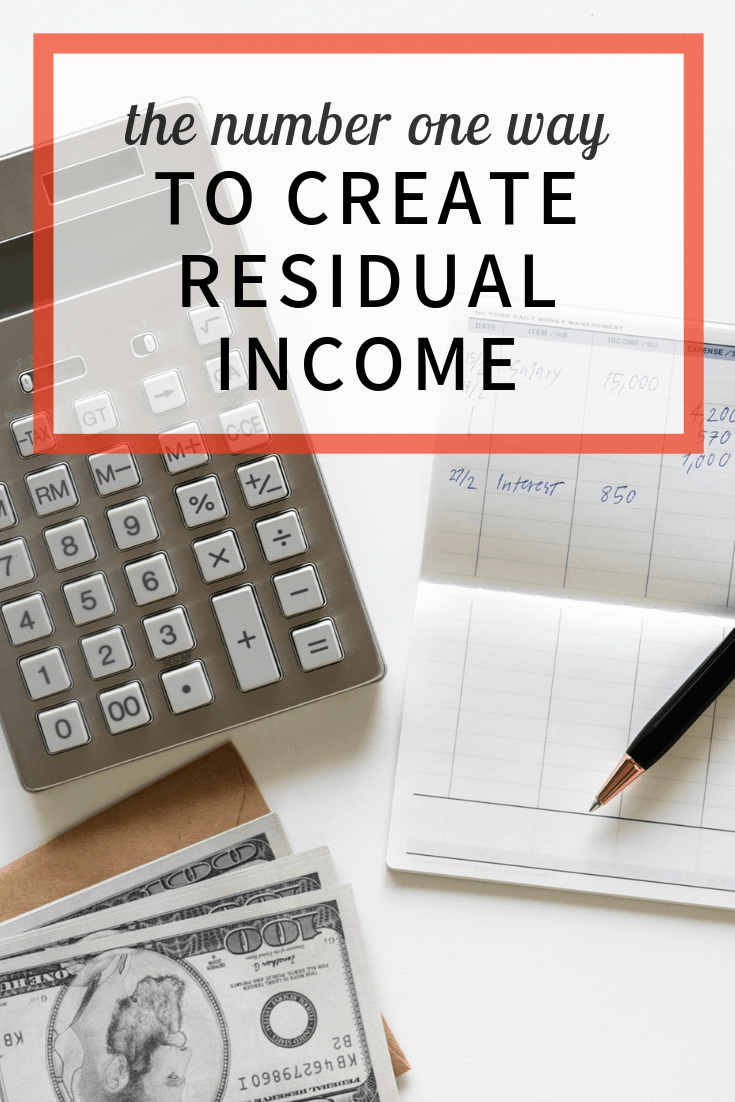Create Residual Income - image
