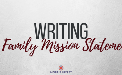 Writing a Family Mission Statement