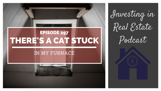 EP297: There's a Cat Stuck in My Furnace
