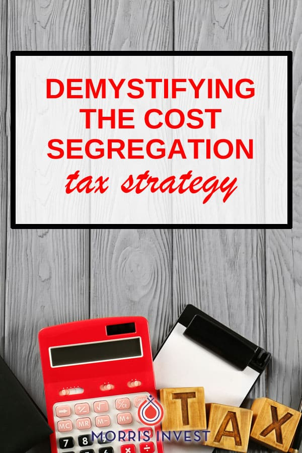 For some real estate investors, cost segregation is a better approach for saving on taxes. A cost segregation allows an investor to front-load their depreciation schedule.