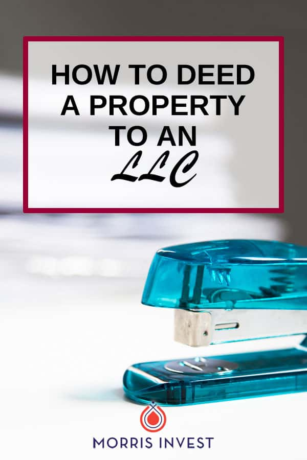 As a real estate investor, you may want to hold property within an LLC. Here's how to deed property to an LLC.