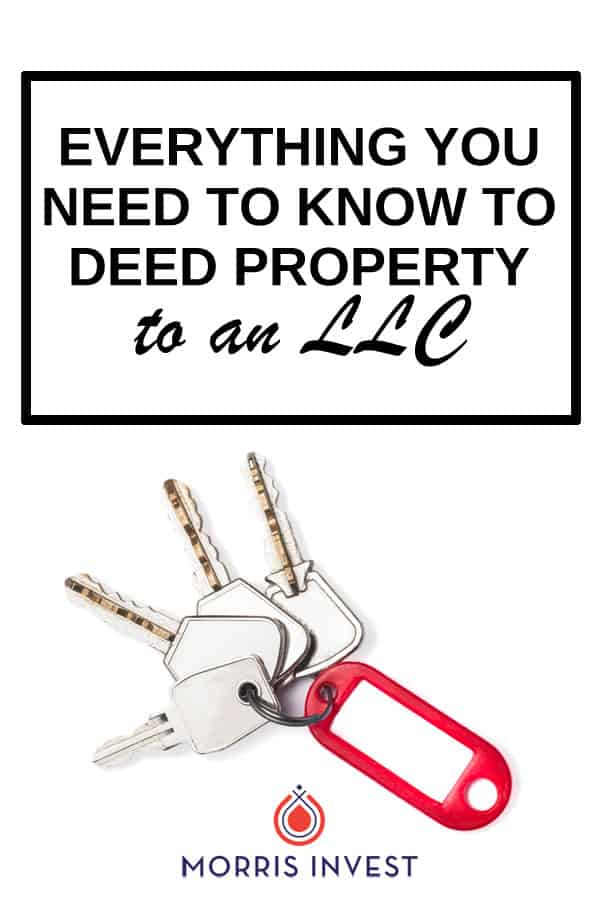 We walk you through the process of deeding a property to an LLC. Everything you need to know, including banking information, insurance policies, and more.