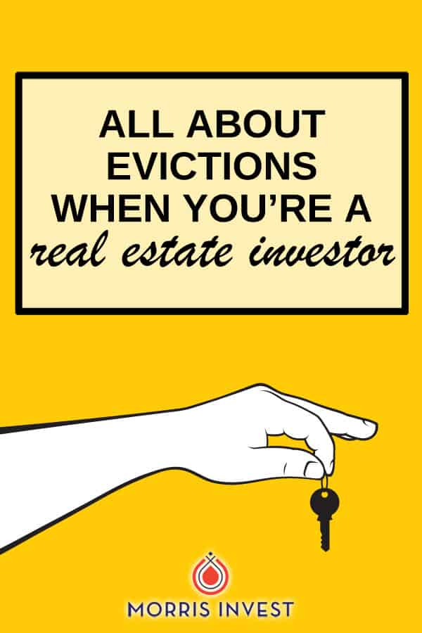Evictions are an inevitable part of being a real estate investor. So especially as you grow your portfolio, it's important to know what to expect should you ever need to evict a tenant from one of your rental properties.