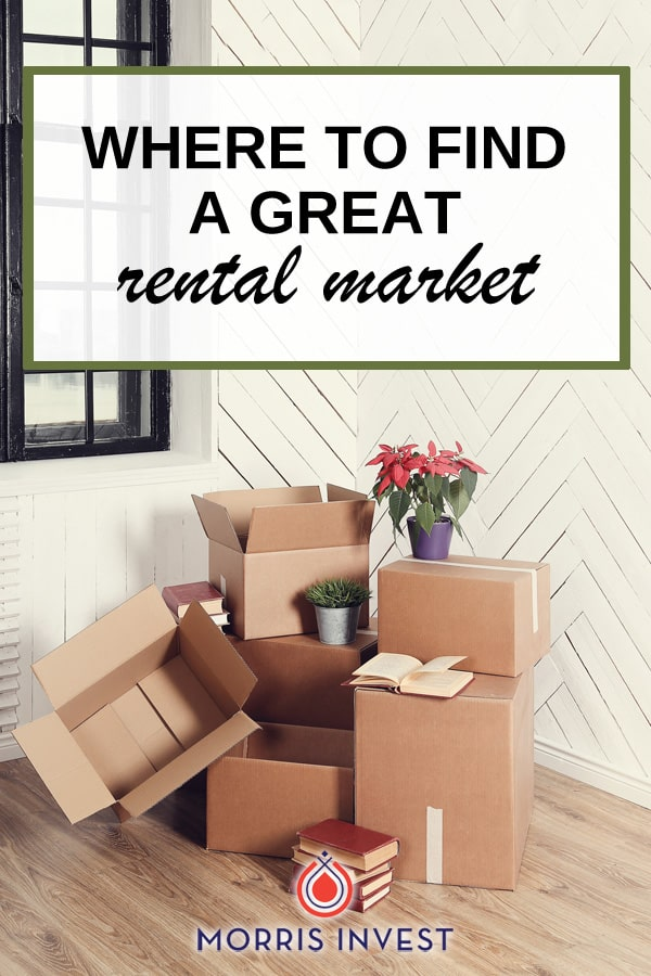 If you're looking for a great rental market to invest in, it's important that you consider a few very specific things.