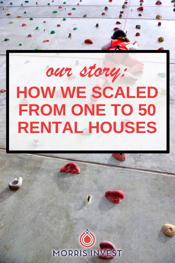 We share exactly how we expanded our portfolio, and ultimately purchased fifty rental properties in a few short years.