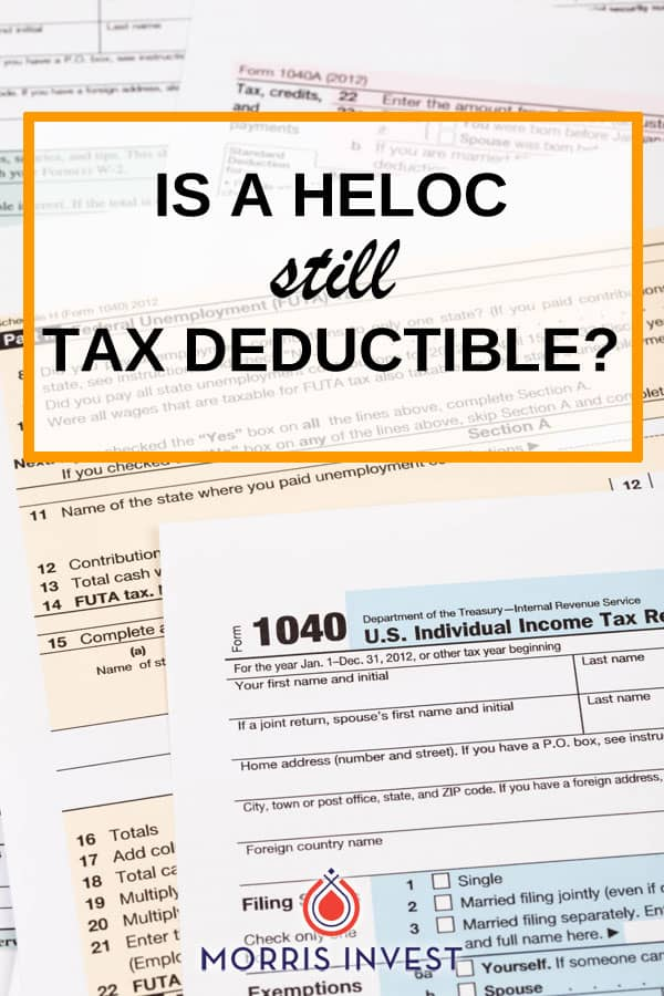 This episode of Investing in Real Estate discusses how changes to the tax code affect HELOCs. Find out whether a HELOC is still tax deductible!