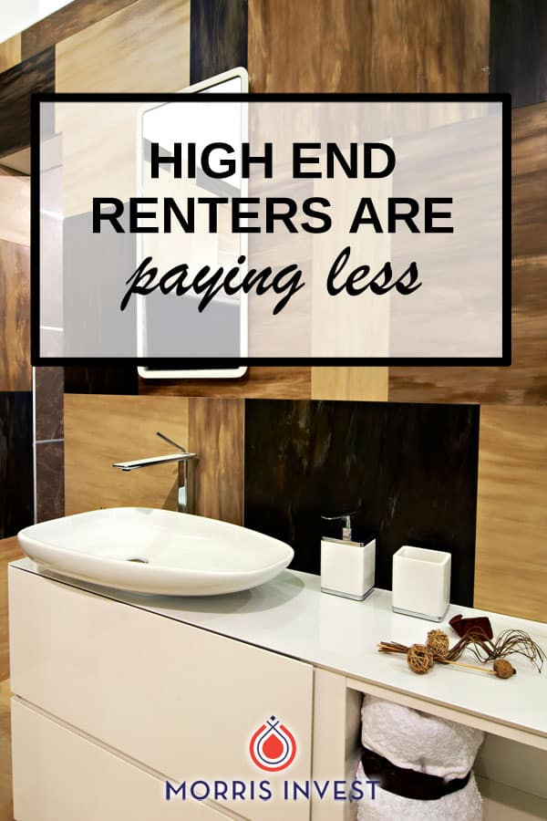 Shortly after the housing crisis, a high percentage of renters spent more than 30% of their income on housing costs. However, it appears that that trend is reversing.