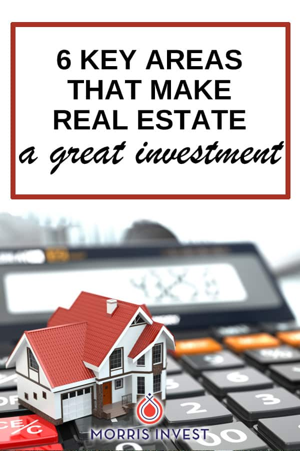 There are many pros to owning rental real estate. Here are six key areas that make real estate a great investment vehicle!