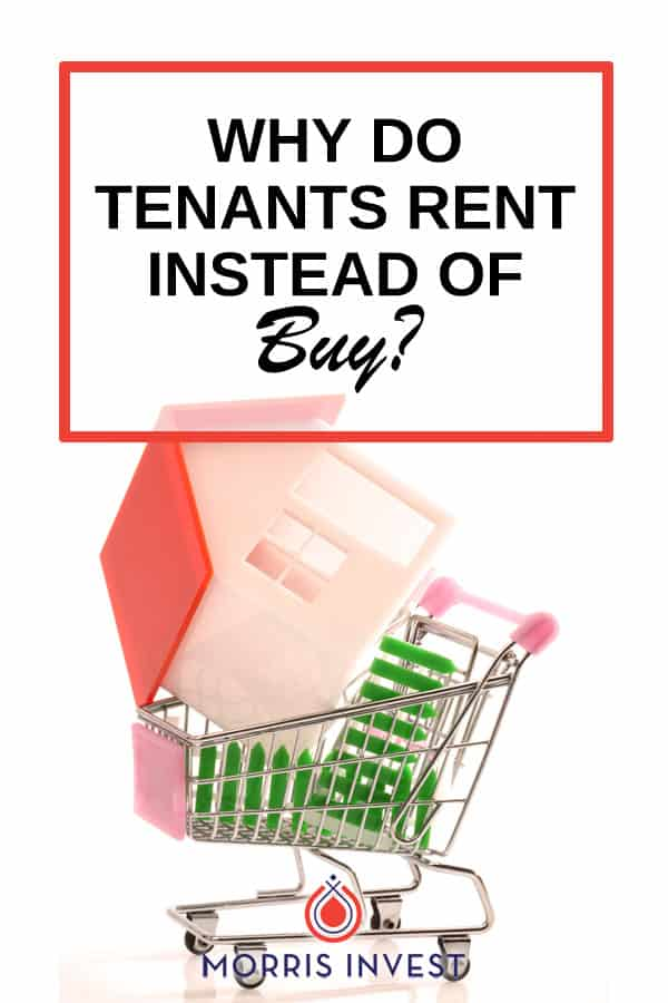 More and more people are deciding to rent. I've found that there are three major reasons why some people choose to rent, instead of becoming homeowners.