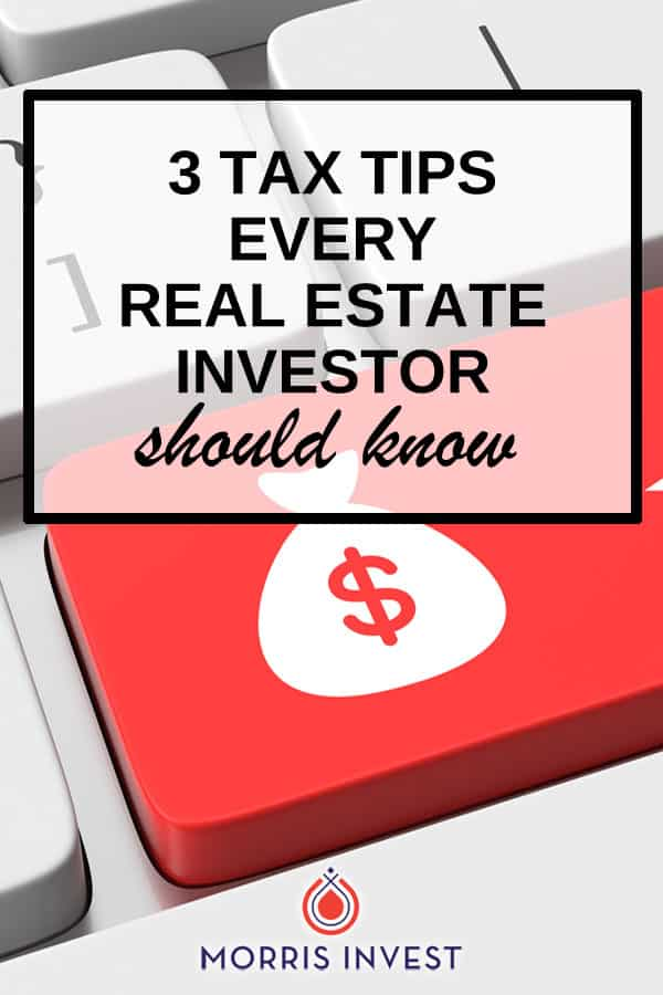 These tips are a Cliff's Notes of all there is to know for real estate investors - 3 tax tips every real estate investor should now.