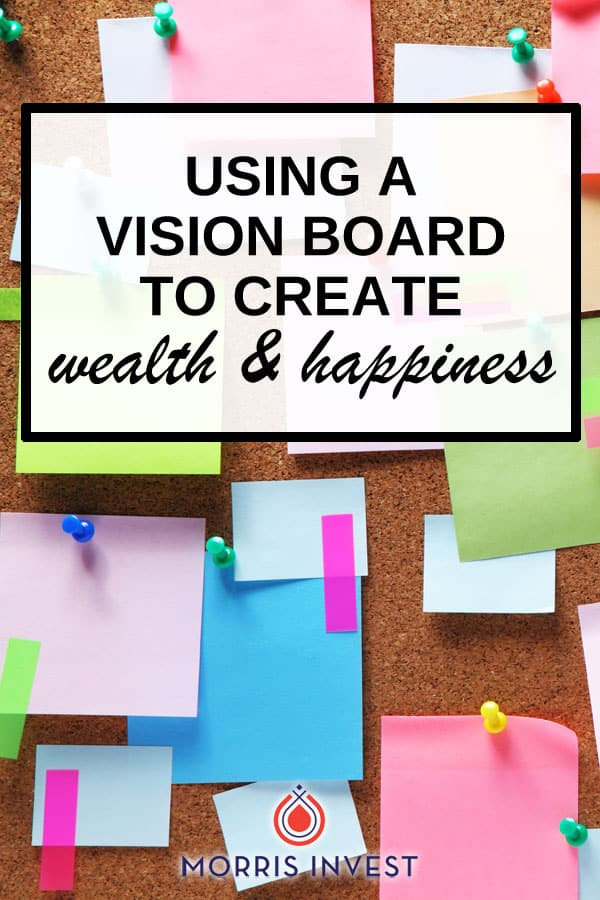 How a vision board can help you keep your eyes on the prize, and help you build legacy wealth. I'll discuss the importance of visualization, and overview three different ways to build a vision board!