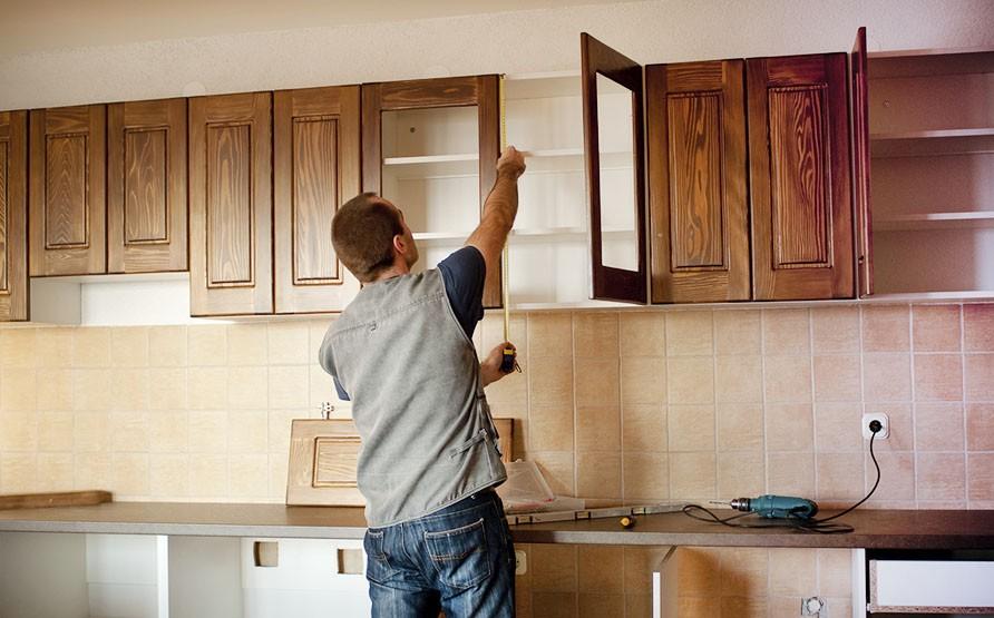 Rental Property Upgrades - Kitchen Cabinets